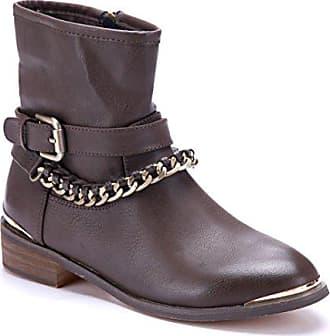 Cm Klassische Stiefeletten Schuhe Stiefel Schuhtempel24 Boots Blockabsatz Braun Damen 3 qSUMpzVG