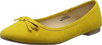 36 Foot Laire Look Mujer Yellow New 87 Con Punta Wide Para Eu Cerrada Bailarinas dark OqSnwUE