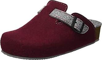 Eu Lira De Chaussures Bogr amp; Piscine Femme Rouge Grünland Plage 36 grigio bordo 7dxwqg7