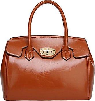 Handtasche Schulter Kreuz Weibliche Frauen onesize Ölwachs Paket Einfache brown Weiblichen Gkkxue Pendler Diagonalen Damen xYz0qqwU