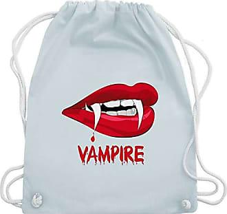 Shirtracer Vampire Bag Blut Blau Turnbeutel Pastell Unisize Gym amp; Halloween Wm110 7rTUw7