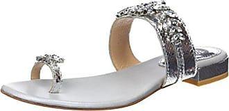 Ouvert Argenté Eu plata Femme Gioseppo 41 Sandales Bout 45315 tq8wXXOBR