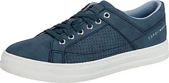 Lu Blau Perf Esprit Sneakers Low Blau Sidney 7WEWqgxp