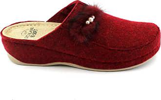 Po Femme Rouge Prua Ci1445 Grünland Bordeaux Tissu Confort Pantoufles En qwRZB4xS