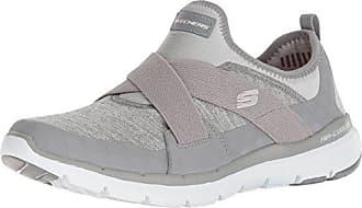 grey 41 3 Gris Gry 0 Appeal Hour finest Mujer Sin Flex Para Skechers Eu Cordones Zapatillas STCwqf7Tx