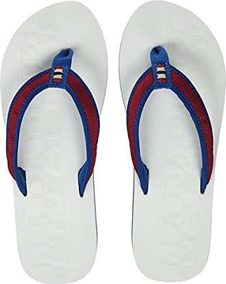 Eu white blue Napapijri Ariel Mehrfarbig Femme Tongs Footwear 38 red 4BFqR4