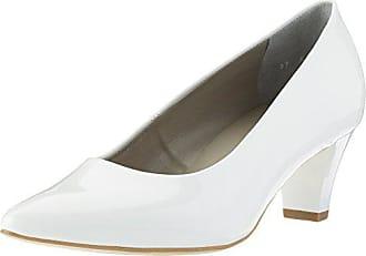 Fermé Femme 36 Bout Jenny 35 Granada Eu Blanc Escarpins weiss 7xnwqBTSw