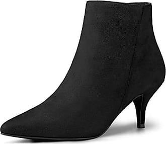 Boots 39 Stiefel Toe Pointed Eu Damen Allegra Ankle Schwarz Stiletto K Reißverschluss agq7wB0