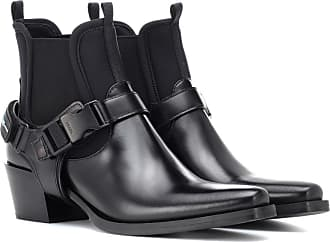 Leather Prada Boots And Neoprene Ankle qOrOZd