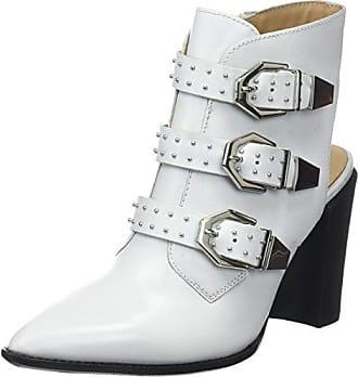 Eu Bx 36 Tira De 1217 Para Bamericanax Zapatos Con Blanco Mujer Tobillo 04 Bronx white 6pdw146