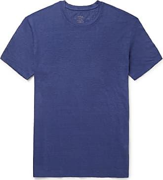 Cobalt Linen Slub Blue T shirt Altea UYqIT