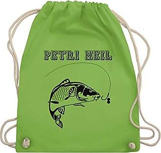 Bag Wm110 Angeln Gym amp; Turnbeutel Unisize Heil Hellgrün Shirtracer Petri vpqTqaP