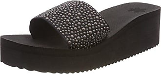 39 Poolwedge Sandales flop Flip black Pearls 0000 Noir Eu Plateforme Femme pqfzgH