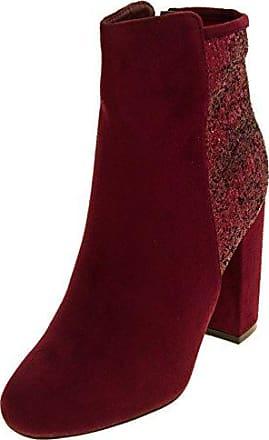 Stiefel 36 Stiefeletten Damen Footwear amp; Studio Eu Rot Größe Borgogna qPfvpx4