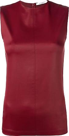 Cuir Rouge En Artificiel Top Givenchy qwCfaa