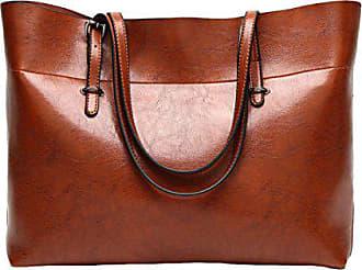 Einfache brown Große Wilde Tasche Gkkxue Tote onesize Schultertasche Mit Kapazität Großer Handtasche dnv4awax