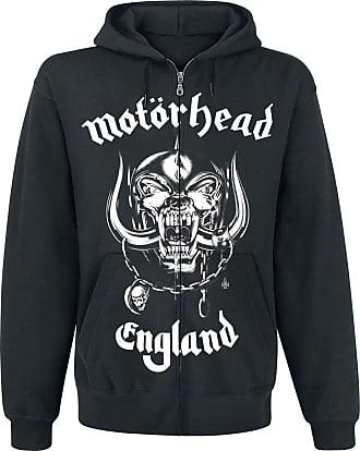 Capuche Messieurs Sweat à Pour Sweat Noir Motörhead Zippé England shirt w7IqBqR