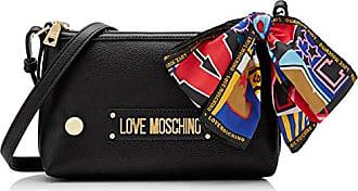 Love Centimeters Moschino Bolso Bandolera Negro nero Pu Mujer 15x10x15 Grain Para UqZrqO