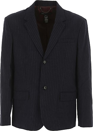 Outlet In Jacobs Blu Giacca Sale Cotone Marc Blazer Scuro Da On Uomo U8n0qd