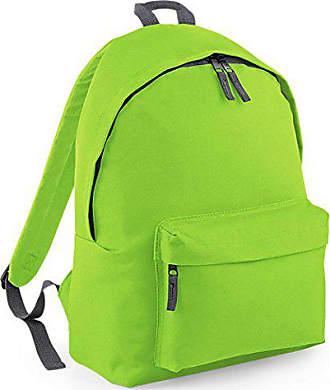 Backpack Fashion Grau Bagbase Limegrün grafit fUznwC5q