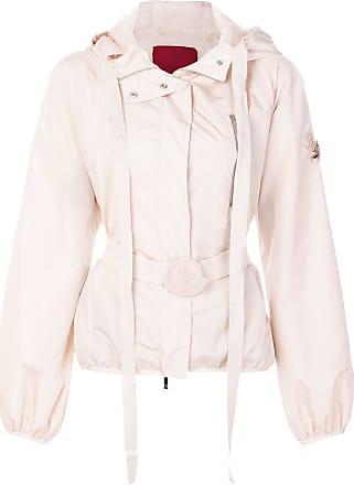 Roze Nylon Moncler Belted Belted Jacket Moncler qPpXPZ
