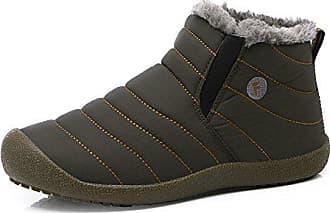 Leit Männer Winter Snow Baumwolle Yff Warm WasserdichtGrau10 Farbe Boots bf6gy7