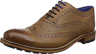Cordones De 45 Eu Ted Guri 9 Hombre Para Baker Oxford tan Zapatos w1M7MqgXpA