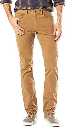cinco de elástica hombre sarga Dockers bolsillos Pantalón de para wqAZUpP