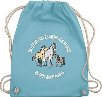 Mehr Turnbeutel Tiermotive Im Wm110 Shirtracer Gibt Gym Hellblau Unisize Leben Pferde amp; Bag Als Kind Es BYw7dqp7