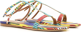 Fabric On Women For Sandals In Multicolor Etro 40 2017 Outlet Sale W8pTRtxA