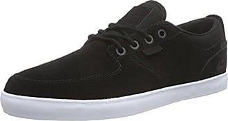 5 black Etnies Skateboardschuhe Herren Hitch 45 Schwarz white pxf0w6q7