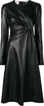 Dress Front Mccartney Stella Knot Noir PqYY4H