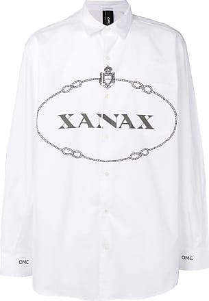 XanaxBlanc Omc Chemise Chemise XanaxBlanc Omc Omc rdWxQCBoe
