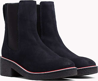 En Fr41 Enfiler Bottines À Hilfiger Daim Tommy W6ITY
