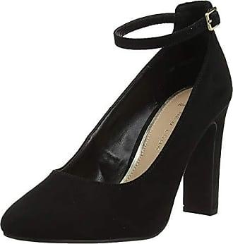 39 Wide Zapatos Mujer Rosa Foot Negro New Eu 1 Punta Con De Tacón black Look Cerrada Para FIqH5xZ