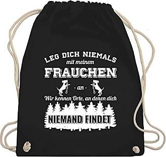 An Frauchen Shirtracer Meinem Niemals Dich Schwarz Turnbeutel Hunde Mit Gym amp; Leg Wm110 Bag Unisize TZYq0wT