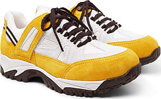 And Maison Sms Yellow Sneakers Suede Margiela Mesh tx6n4qOp
