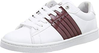 Leather Multicolore Mehrfarbig white464 Sneakers 100 Basses Buffalo Pu 39 Femme 17 EFwx4xq0p