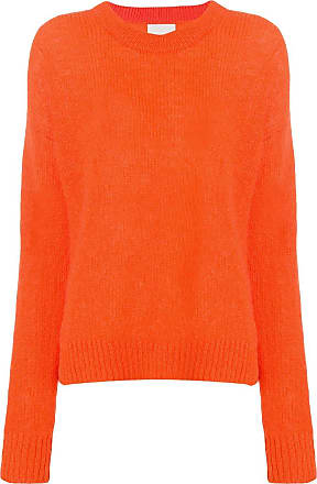 Crew Orange Sweater Laneus Neck Crew Neck Sweater Laneus Orange Laneus 8ZwzYY