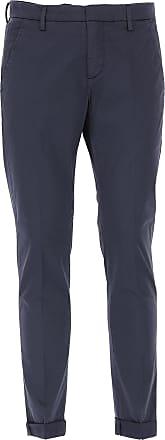 2017 50 Hombre Baratos En Pantalón Oscuro Pantalones Azul Dondup De Rebajas Algodon HRwvq