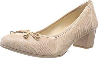 410 Eu Tacón Para 37 beige Mujer Zapatos Reptile 5 Caprice De 22308 wqB8H8