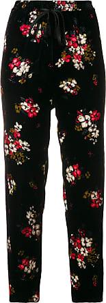 Forte Fleurs forte Crop À Noir Pantalon TxvqTnr