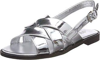 39 Argent Sandales Cheville Biz Femme Haruko Shoe Specchio Bride Silver zPqHw4qC