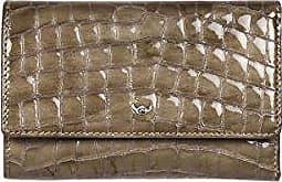 2 Golden Glanz Leder kroko 78 Cayenne optik Geldbörse Taupe Damen Head 2805 OikZTPXu
