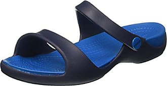Bleu 35 Eu Cleo Crocs ultramarine Ouvert V Bout 34 Sandales Femme Women navy Sandal q74x7O86