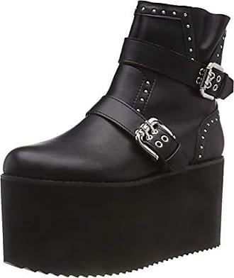Gm Citron Femme S10263 Noir Buffalo Botines black Dark Eu 38 01 Pu 00 64q55Ew