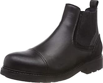 Hombre Boot Leather Tommy 990 black Eu Negro Active Botas Hilfiger 45 Chelsea 6qRTY