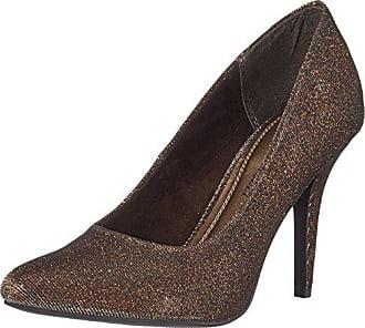 Argent Pieds Femme 968 39 Du À Avant Talons Marco Metall Chaussures Tozzi Couvert bronze 22405 p0Uqwv0