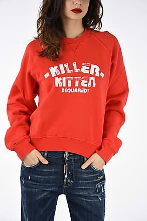 L Printed Sweatshirt Size Crewneck Dsquared2 nI6qg7