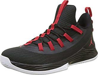 Ultra Red white 2 De Jordan Low black Homme Basketball Fly 41 Eu Noir 001 university Chaussures Nike Hq15x